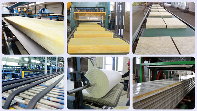 glass wool Factory