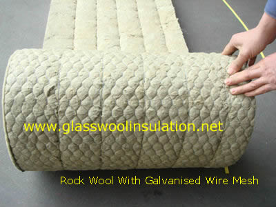 rock wool Galvanised Wire Mesh